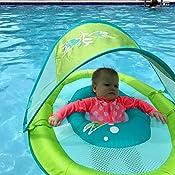 Amazon Com Swimways Baby Spring Float Sun Canopy Pink