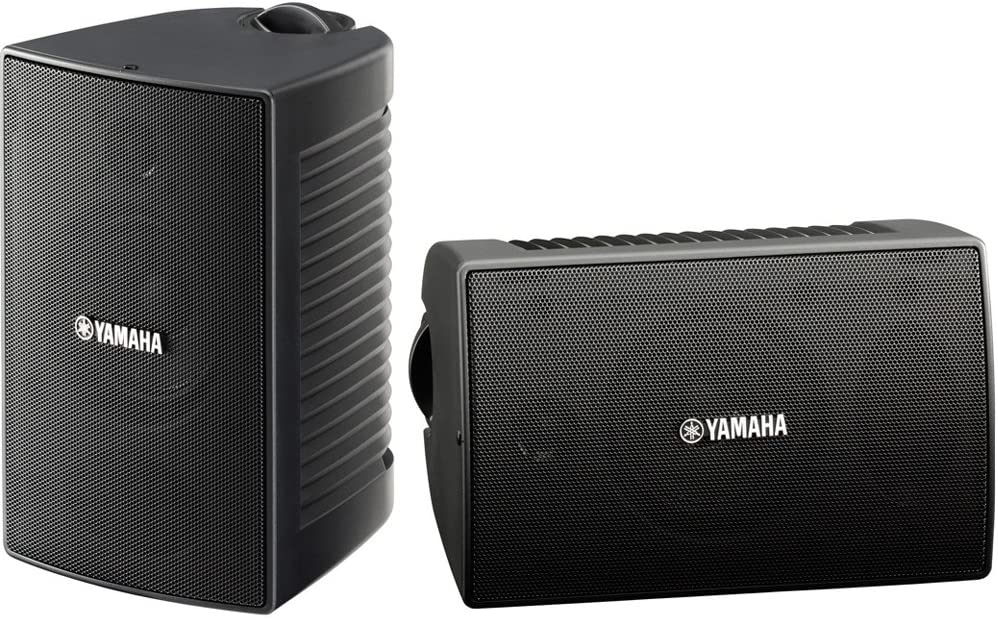 Yamaha NS-AW194BL High-Performance All-Weather Speakers, Black