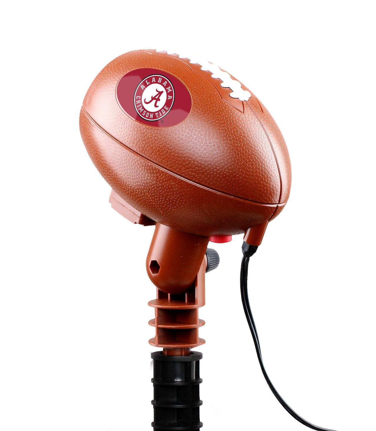 Fabrique Innovations NCAA Alabama Crimson Tide Team Pride Light, Red, One Size