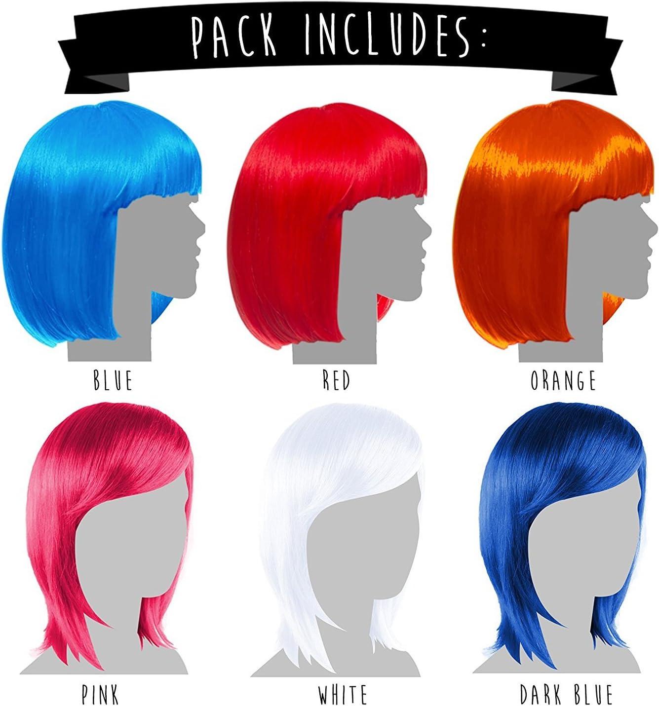 sujetadores de coleta Pack de 12 pelucas de terciopelo para el pelo