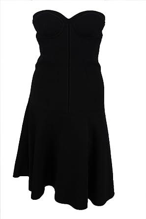 e95c1d344e Amazon.com: Proenza Schouler Womens Black Bustier Drop A-line ...