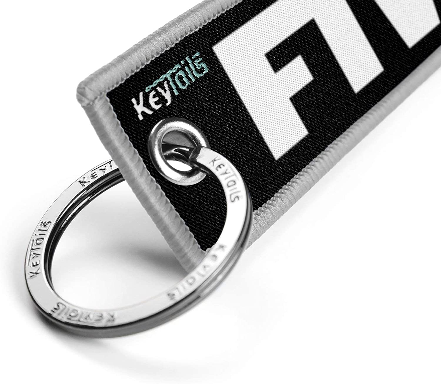 Premium Quality Key Tag for Motorcycle Car ATV FTW - For The Win, Forever Two Wheels Scooter UTV KEYTAILS Keychains
