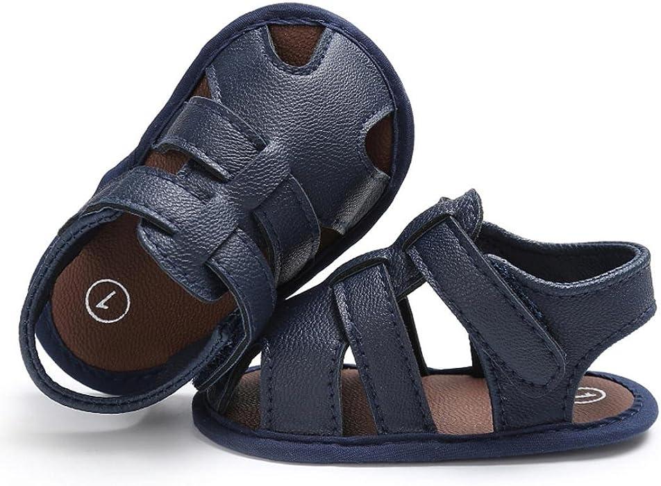 7ff27d8fcbb00 Sandalias Para Bebés Xinantime Bebe Recien Nacido Verano Sandalias Zapato  Casual Zapatos Sneaker Antideslizante Suela Suave. Atrás. Pulsa ...