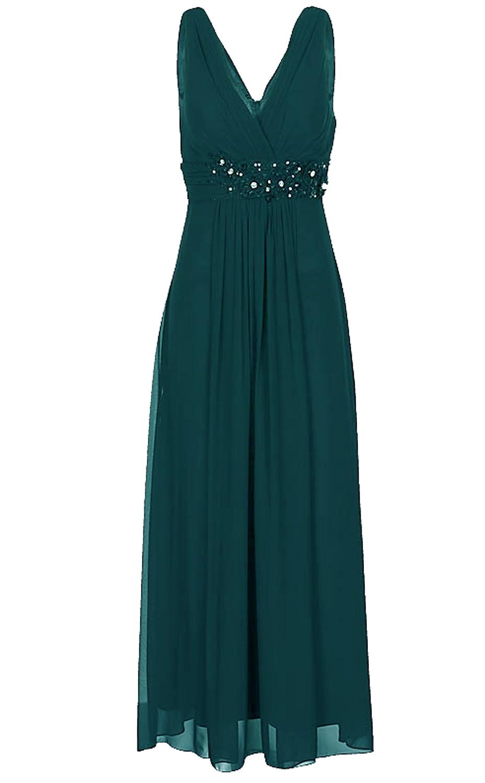 Lautinel Chiffon Abendkleid Ballkleid Festkleid lang ...