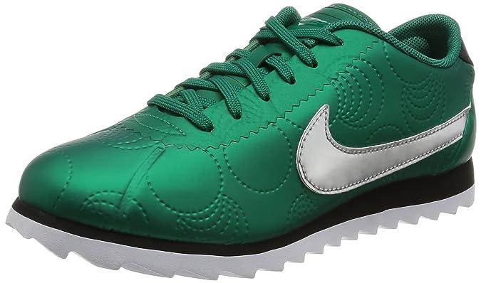 65eefda3cfa3 NIKE WMNS Cortez Ultra Look Of The City QS Women s Sneaker Green 872783  300  Amazon.co.uk  Shoes   Bags