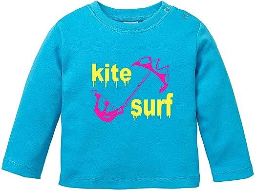EZYshirt® Kite Surf Baby T-Shirt Longsleeve