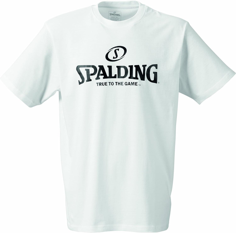 Palla da Basket-fanartikel Logo T-Shirt Spalding