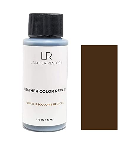 Groovy Leather Restore Leather Color Repair Dark Brown 1 Oz Repair Recolor And Restore Couch Furniture Auto Interior Car Seats Vinyl And Shoes Dailytribune Chair Design For Home Dailytribuneorg