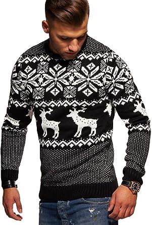 huge discount 5752b 83703 Rello & Reese Herren Strickpullover Norweger Pullover Sweatshirt RS-1048