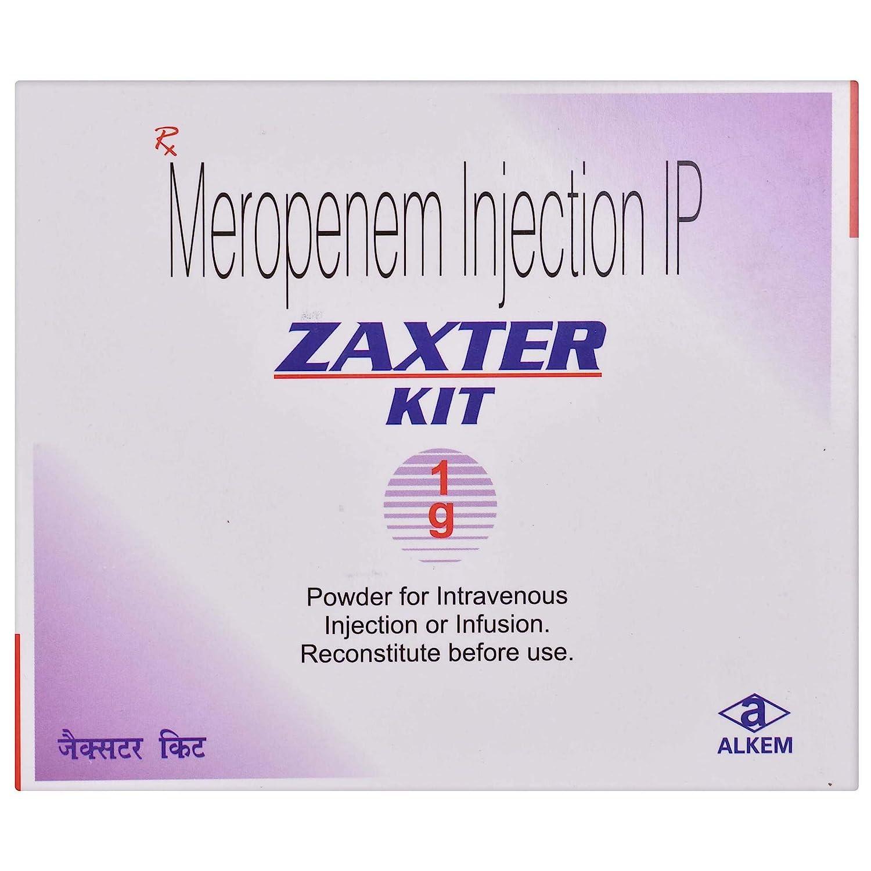 Zaxter Kit - Injection 1gm: Amazon.in