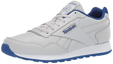 65fcc60dc Reebok Men's Classic Harman Sneaker, Skull Grey/Collegiate Royal/White, ...