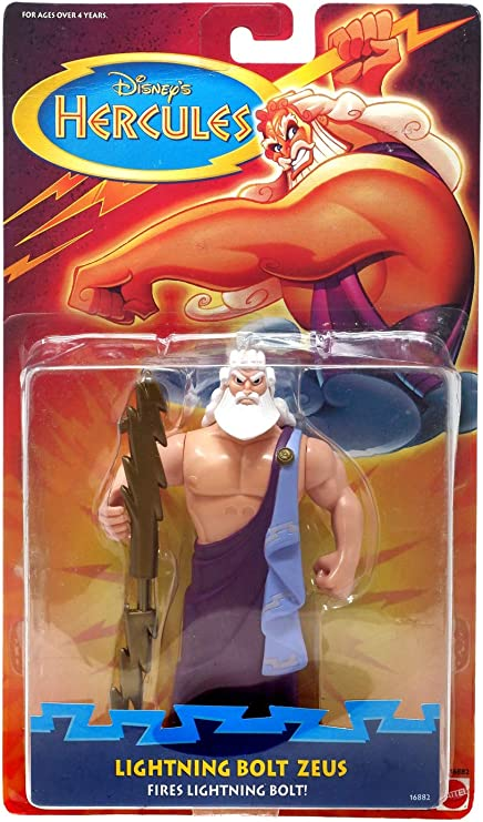 Disney S Hercules Lightning Bolt Zeus