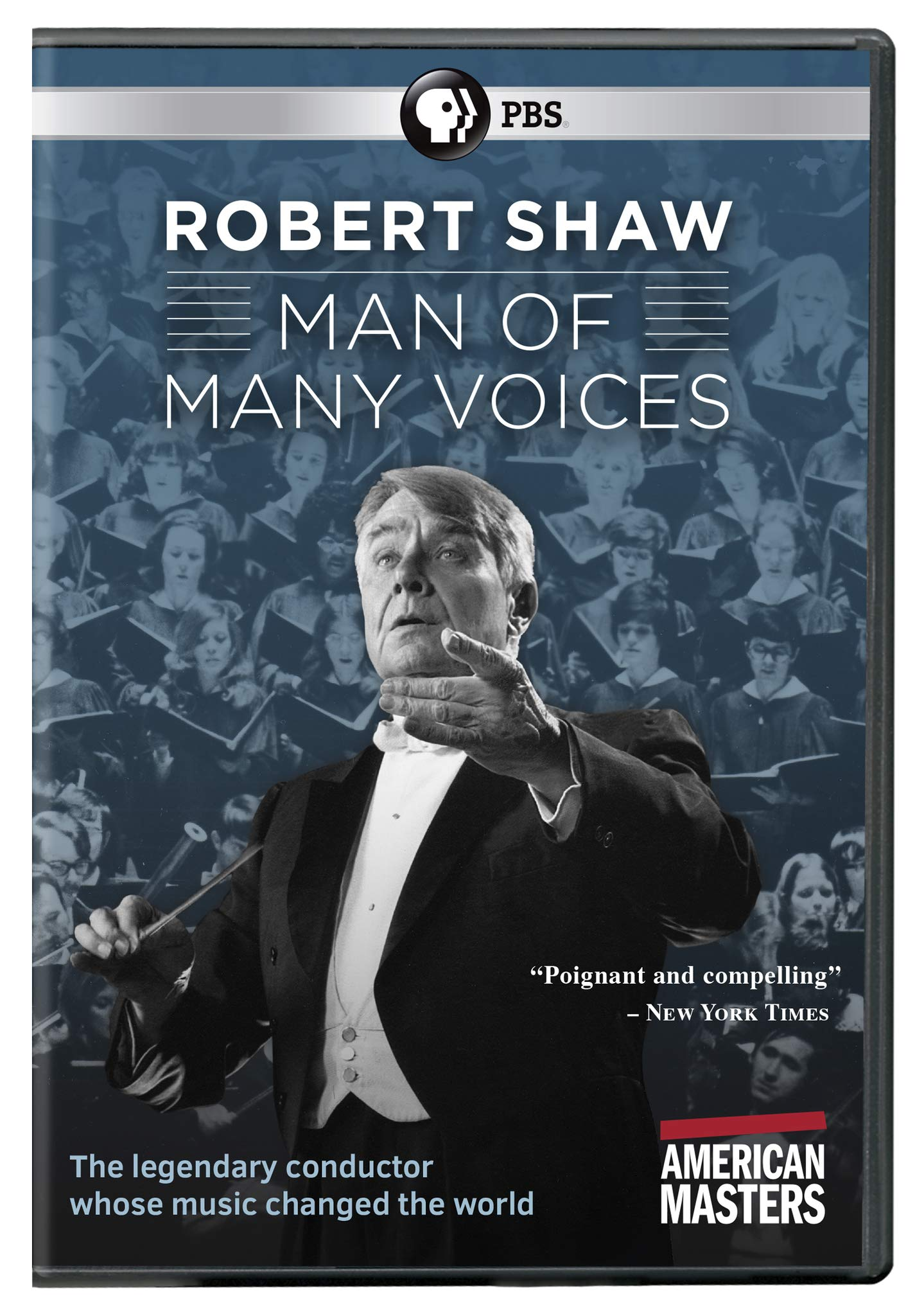 Book Cover: American Masters: Robert Shaw: Man of Many Voices