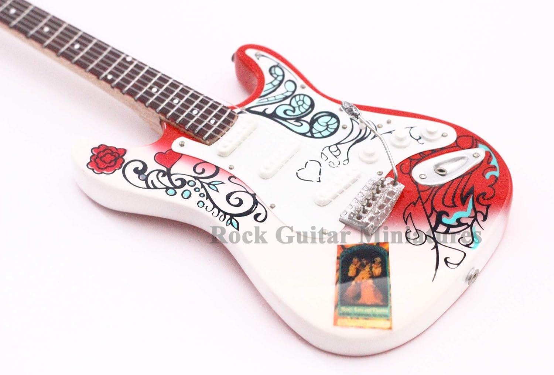 RGM97 Jimi Hendrix Monterey Mini guitarra en miniatura miniaturas ...