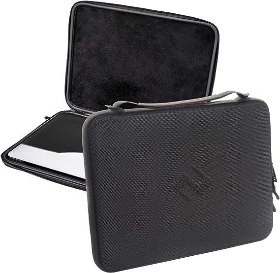 Smatree Estuche de Viaje Travel Compatible con MacBook Pro de 13.3 Pulgadas/Air 2020 2019 / iPad Pro de 12.9 Pulgadas/Surface Laptop de 13.5 Pulgadas, maletín rígido con Soporte para lápiz y asa: Amazon.es: Electrónica