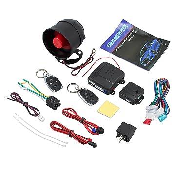 Sistema de Alarma para Automóvil Universal Sistema de ...