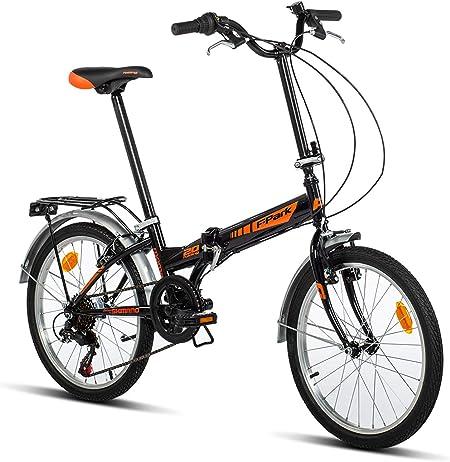 Moma Bikes Bicicleta Plegable Urbana FOLDING PARK, SHIMANO 6V.: Amazon.es: Hogar