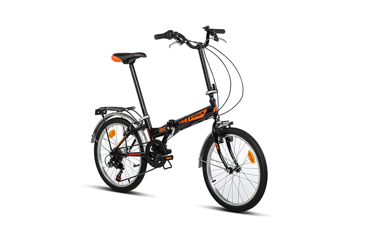 Moma Bikes Bicicleta Plegable Urbana FOLDING PARK, SHIMANO 6V. BIFPARKNUN