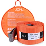 JCHL Recovery Tow Strap Heavy Duty Draw String 4' x20ft 35000LBS (18TON) Rated Capacity Off Road Towing Rope Reinforced…