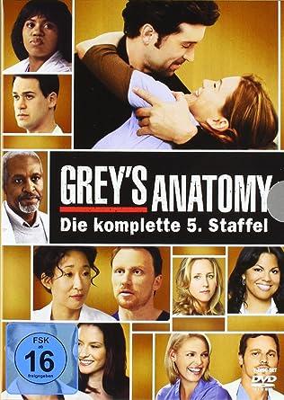 Grey\'s Anatomy: Die jungen Ärzte - Die komplette 5. Staffel 7 DVDs ...