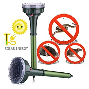 Dekugaa Solar Snake Repellent for Outdoor