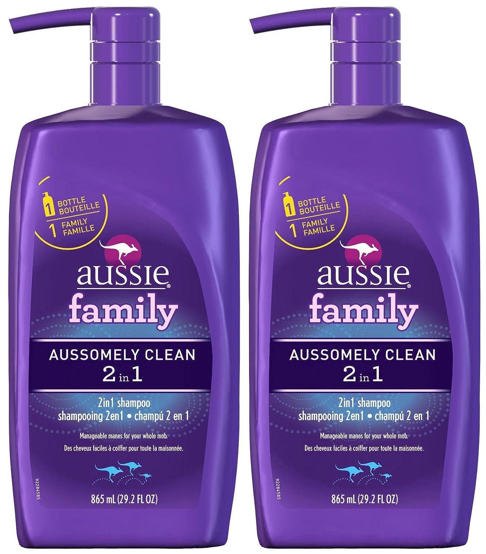 Aussie Aussomely Clean 2-in-1 Shampoo + Conditioner - 29.2 oz - 2 pk