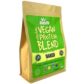 BodyMe Mezcla de Proteina Vegana Organica en Polvo | Naked Natural ...