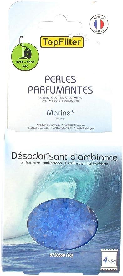 TopFilter 0720550 - Perlas perfumadas, Aroma a Aspirador, ambientador de Ambiente, Color Azul: Amazon.es: Hogar