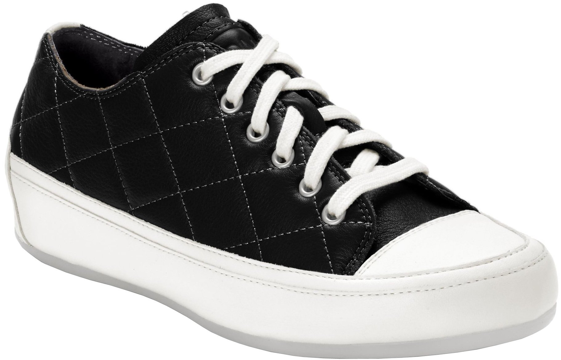 Vionic Womens Delight Edie Lace up Sneaker, Black, Size 9.5