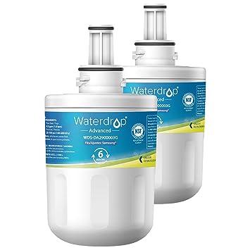 2 x Waterdrop WD-DA29-00003G Reemplazo del filtro del refrigerador ...