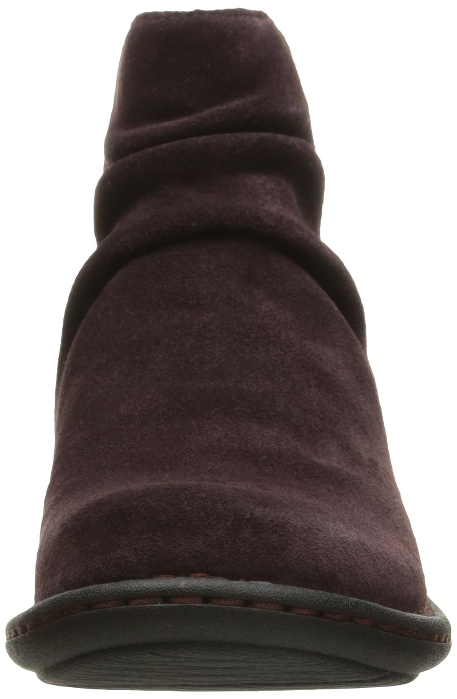 CLARKS Women's Avington Swan Boot B0196UCEDA 11 B(M) US|Aubergine Suede