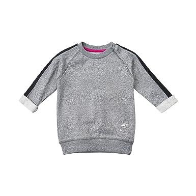 c04921c6ed MINYMO MINYMO Mädchen Langer Pullover grau meliert Pullover: Amazon ...