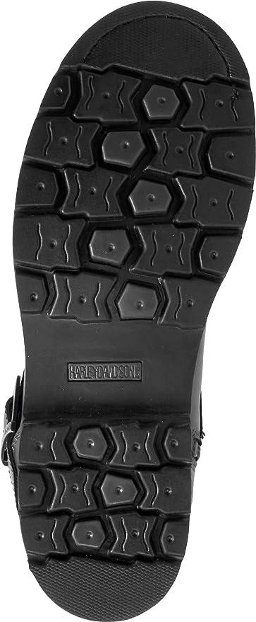 Harley-Davidson Mens Williams 6.5-Inch Waterproof Black Motorcycle Boots D96179