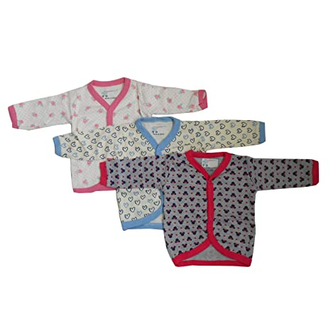 7ac09db4a NammaBaby Baby Cotton Front Open Full Sleeves Vest- -Multi Print-Prt ...