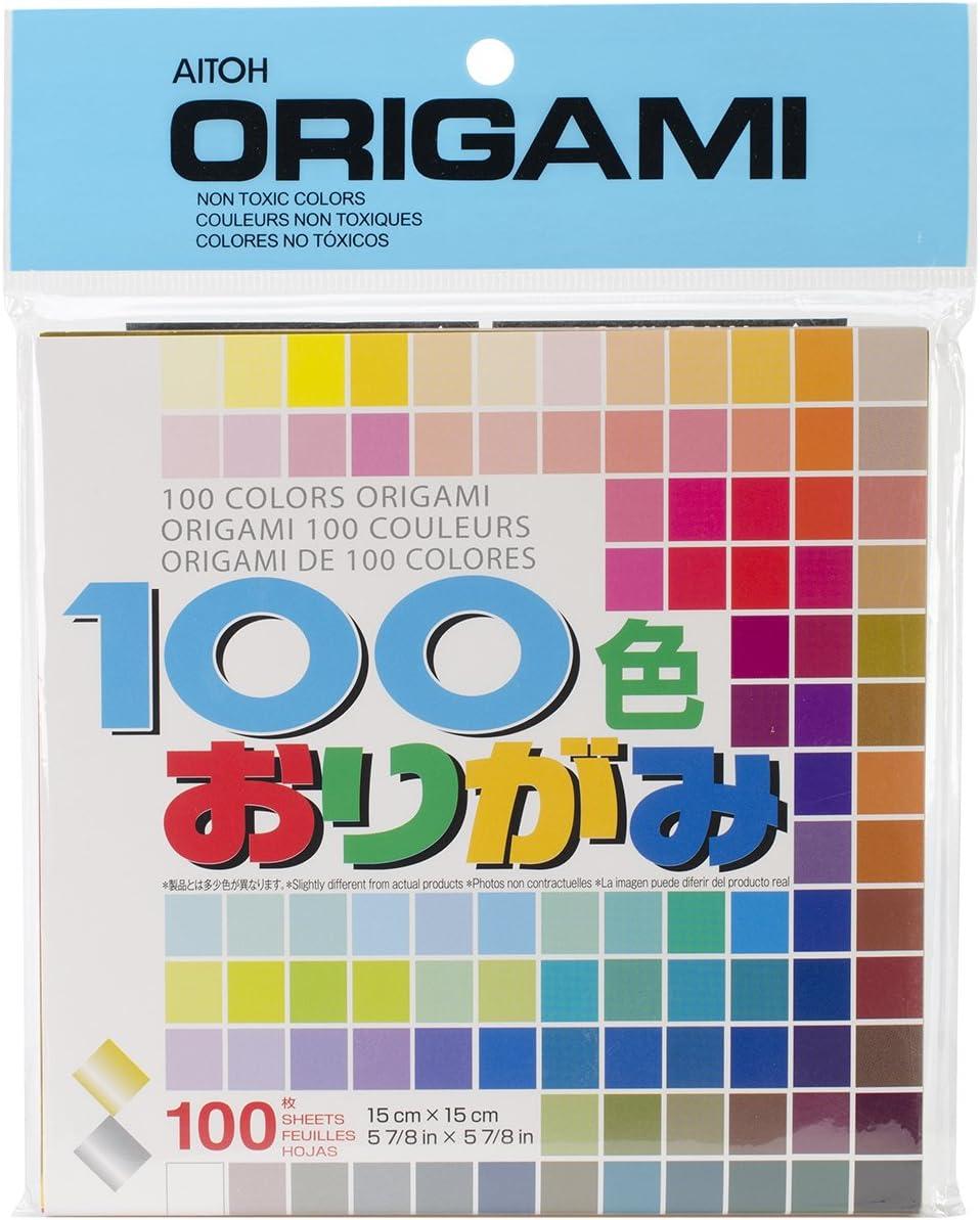 Amazon.com: aitoh de papel para Origami, 5.875 by 5.875-inch ...