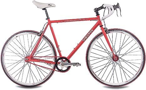 CHRISSON 28 Pulgadas Fixie FG Road 1.0 Bicicleta de Carreras ...