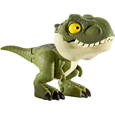 Jurassic World Snap Squad Green Tyrannosaurus Rex Figure: Toys & Games