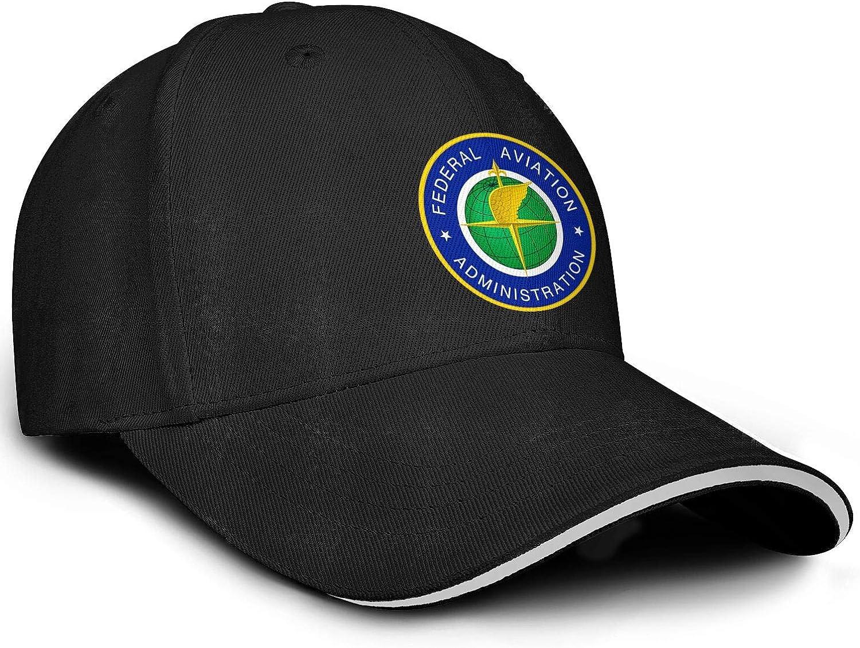 Federal Aviation Administration Logo Baseball Cap Custom Dad Hats Mens Adjustable Snapback Ball Caps for Women