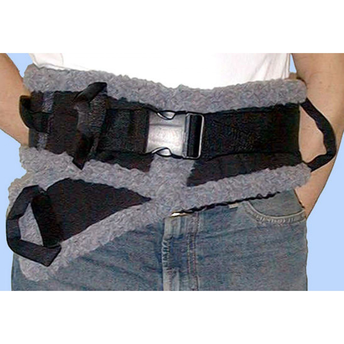 RI6034EA - SafetySure Transfer Belt Medium, 4 ft. L x 4 W, 3/8 Thickness, 32-48 Waist