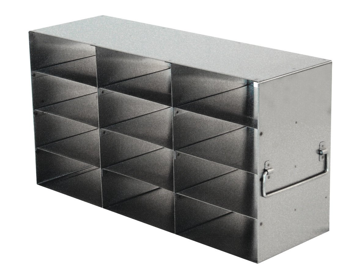 Argos RF342A Upright Freezer Rack for 2'' Boxes, 12 Box Capacity, 3 x 4 Configuration by Argos Technologies