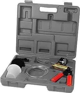 Performance Tool W89727 Automotive Vacuum Pump Kit & Brake Bleeder Kit