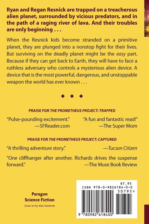 The prometheus project stranded volume 3 douglas e richards the prometheus project stranded volume 3 douglas e richards 9780982618400 amazon books fandeluxe Gallery