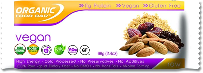 Top 8 Organic Food Bar