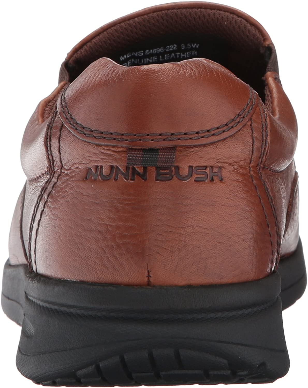 Nunn Bush Mens Cam Moc Toe Slip-On
