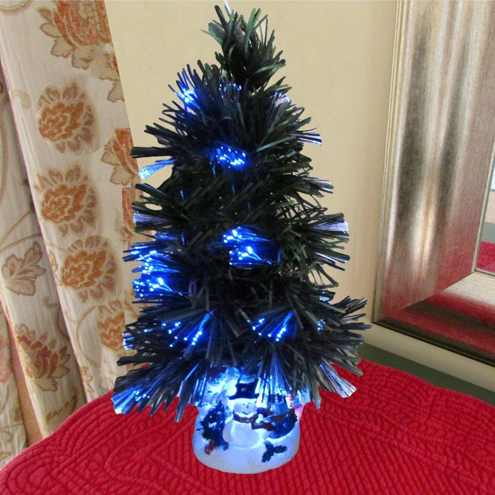 Fiber Optic Tabletop Christmas Tree