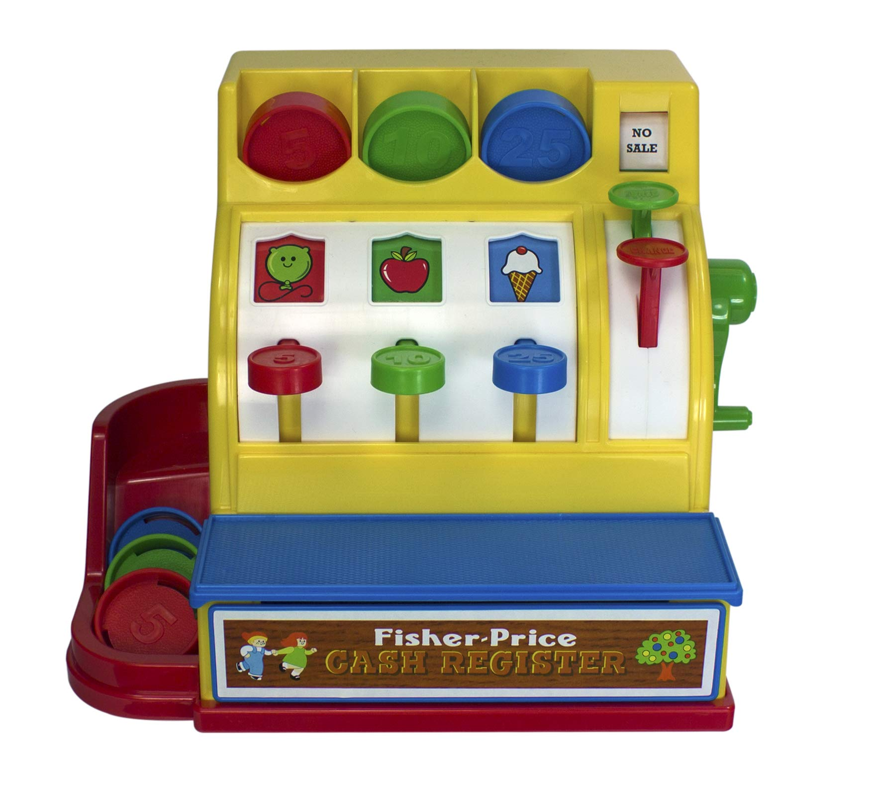 Fisher-Price Classics Retro Cash Register by Basic Fun