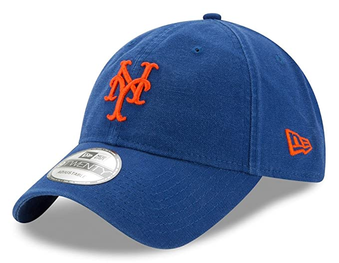 2091d07452cf37 Amazon.com: New York Mets New Era MLB 9Twenty Primary Core Classic ...
