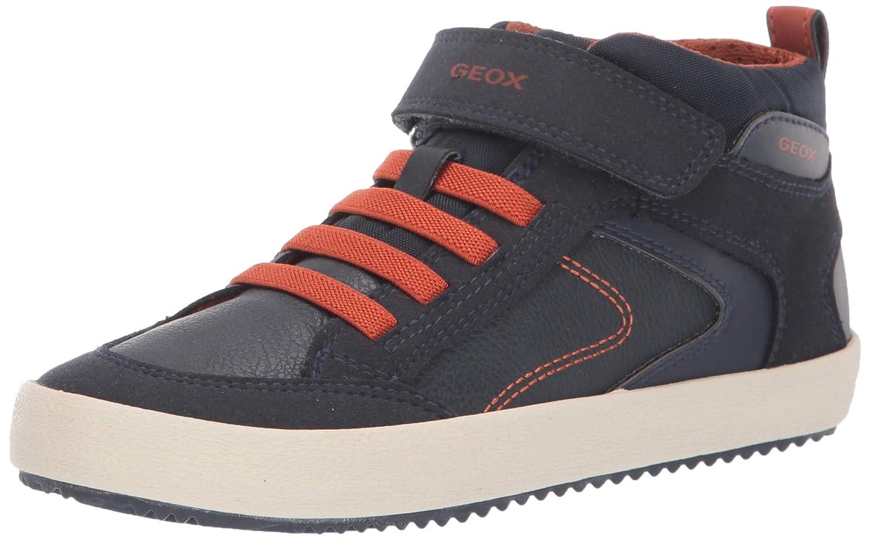 Geox j alonisso boy c scarpe da ginnastica basse bambino amazon shoes grigio sintetico