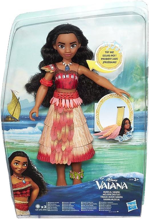 Vaiana Disney Girls Musical (Hasbro C0154EW0): Amazon.es: Juguetes y juegos