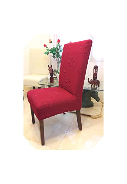 Amazon.com: Thick Fabric Colorful Universal Spandex Chair ...